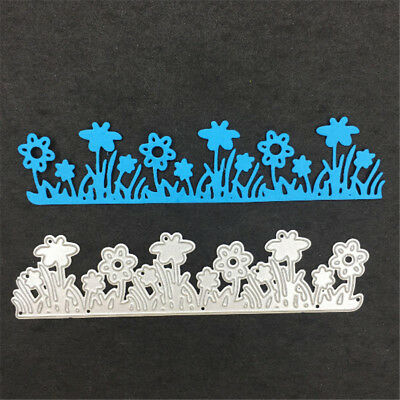 Flower and grass Metal Cutting Dies Stencils For Scrapbooking Cards Craft,!