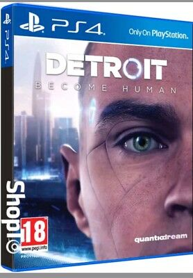 Detroit: Become Human PS4 game playstation 4 new sealed uk freepost