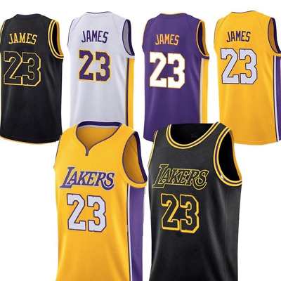 5de750d6f548 LeBron James Lakers Jersey Los Angeles Mens Stiched Basketball Jersey  23  S-XL