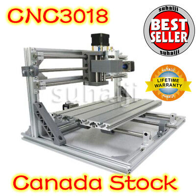 3 Axis CNC 3018 DIY Router Kit USB Wood Engraving Carving PCB Milling Machine