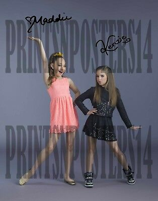 """Maddie /& Tae Beautiful Country Duo Reprint Signed 8x10/"""" Photo #4 RP"""
