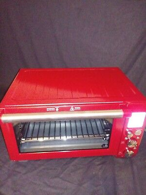 Breville Smart Pro Countertop Convection Oven In Cranberry Finish