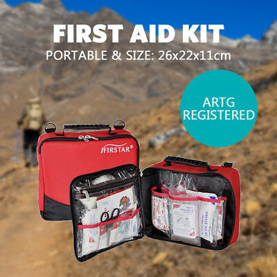 First Aid Kit Outdoor Camping Sport Hiking Family Survival ARTG Registered