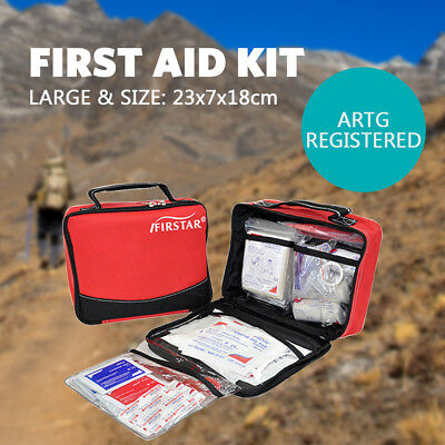Large Trauma Kit First aid Kit Outdoor Camping Family Survival ARTG Register
