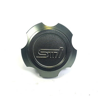 Silver STI OIL FILLER CAP IMPREZA WRX LEGACY FORESTER JDM UK STOCK