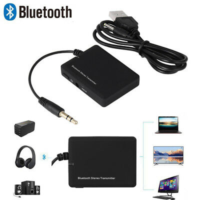 Wireless Bluetooth V2.1 Transmitter A2DP Stereo 3.5mm Audio adapter for TV MP3