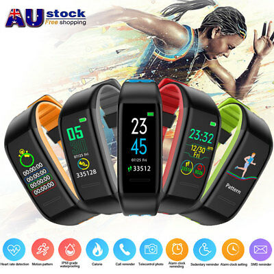 Kid Adult Fitness Smart Watch Activity Tracker HeartRate Monitor For Android iOS