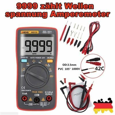ANENG AN8008 Digital Multimeter Auto Bereich True RMS AC/DC Digitalmultimeter DE