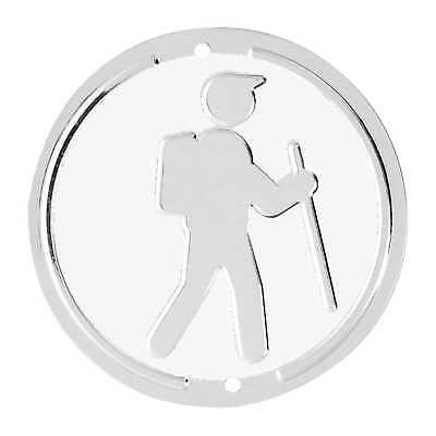 Trailite Hiker Markers White Non-Reflective Pack of 100