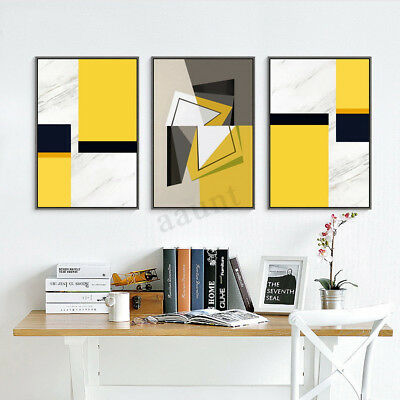 Abstract Canvas Print Painting Wall Art Unframed Oil Picture Home Decoration HOT