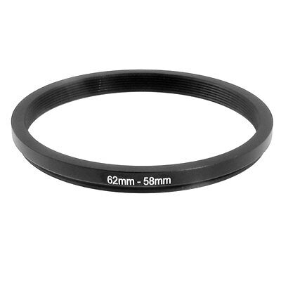 62mm-58mm 62mm to 58mm  62 - 58mm Step Down Ring Filter Adapter for Camera Lens