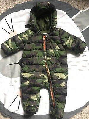 Gap Baby Boy Snowsuit, Coat, Size 3-6 Months