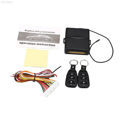 0133 Alarm Systems Car Central Kit Locking Keyless Entry With Remote Controllers