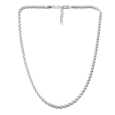 """Women's Girls 925 Sterling Silver Chain Necklace 20"""""""