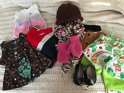 Lot of assorted doll clothes for 18 inch Doll Fits American Girl