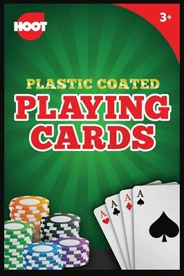 Small Professional Plastic Coated Playing Cards