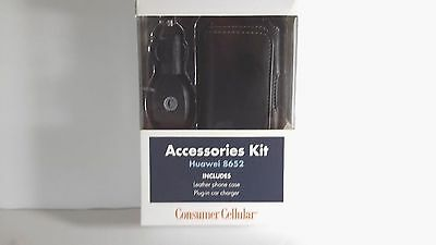 Consumer Cellular Huawei 8652 Accessories Kit | **new**
