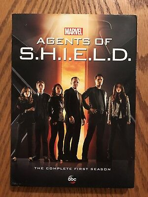 Marvel's Agents of S.H.I.E.L.D. Season 1 (The Complete First Season) 5 Disc DVD