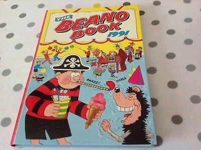 1991 Beano Annual / Book In Good Clean Condition New Price Only £2.00