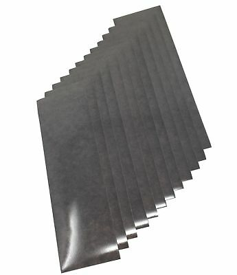 "Qbc Craft Motorcycle Black Reflective Tape Kit 12 Sheets 3.5"" x 12"" of 3M Sco..."