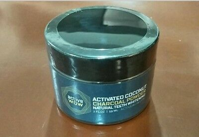 Activated Coconut Charcoal Powder Natural Teeth Whitening By Active Wow