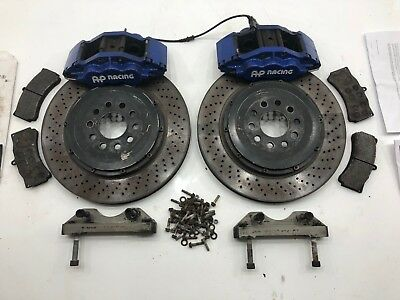 Ap Racing Movit 6 Pot Piston Cp5555 Brake Calipers 380Mm Discs Audi Vw Mercedes