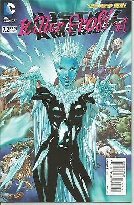 JUSTICE LEAGUE of AMERICA - No. 7.2 (November 2013) ~ KILLER FROST COVER