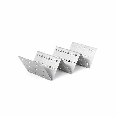Front Of The House DHO001BSS23 Dots Stainless Steel Taco Holder