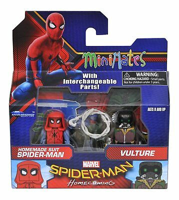 Marvel Minimates Doppelpack Spider-Man Homecoming: Spidey Homemade Suit & Vultur