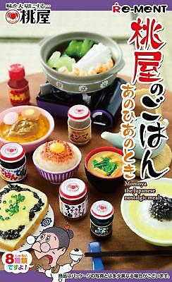 RE-MENT Momoya The Japanese Nostalgic Meals Miniature Figure Complete Box  W/T