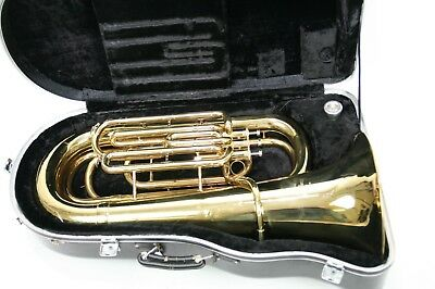 Besson Regent Bb Compact Tuba model 678 with case