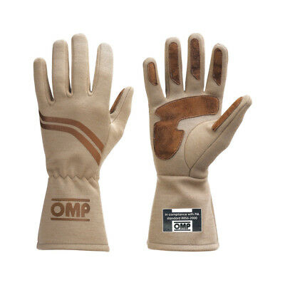OMP Racing DIJON Racing Gloves (FIA Approved) - size L