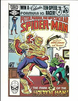 Peter Parker, The Spectacular Spider-Man # 63 (Feb 1982), Vf