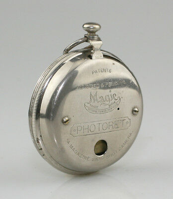 MAGIC Photoret Watch Camera c.1894 (later version) - HIGHLY SCARCE (ZX4)