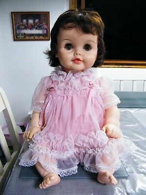 1960 American character Toodles baby doll, 21'' made in Canada