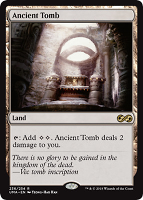Tomba Antica - Ancient Tomb mtg eng ULTIMATE MASTERS UMA