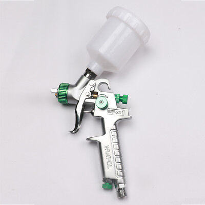 1.0mm Mini HVLP Air Paint Spray Gun Car Repair Gun Detail Touch Up Gravity Feed