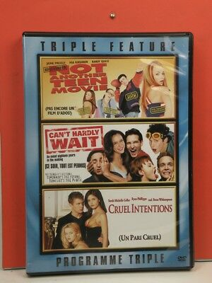 Not Another Teen Movie / Can't Hardly Wait / Cruel Intentions (DVD, 2008)