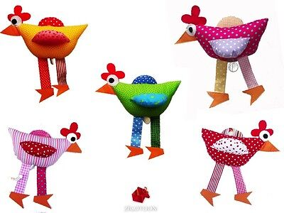 Musical Chicken, Green music box Hen Baby Gril and Boy ecological birth gift