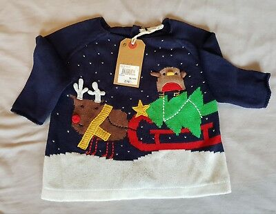 Next Baby Boy Christmas Jumper