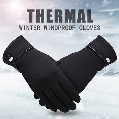 US Women Winter Gloves Warm Touch Screen Fleece Lined Driving Gloves for Ladies