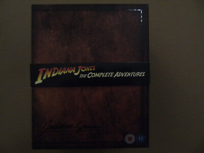 Indiana Jones The Complete Adventures Limited Edition Box Set - UK Blu Ray - 12