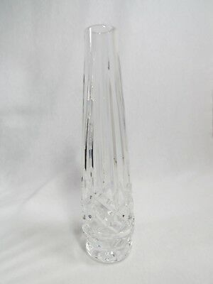 """7"""" Inch Tall Bud Vase Waterford - Marked with Seahorse - Beautiful"""