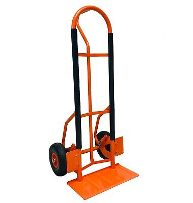 Heavy Duty Zero Pro Hand Truck Industrial Sack Trolley Puncture Proof Wheels