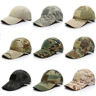 Men Tactical Operator Camo Baseball Hat Military Army Forces Airsoft Cap Special
