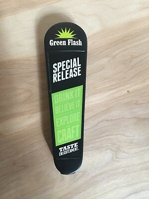 Green Flash Tap Handle - Special Release, Limited Edition Craft Beer West Coast