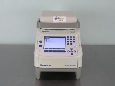 Eppendorf MasterCycler Nexus Gradient Thermal Cycler 96 well w Warranty SEE VID