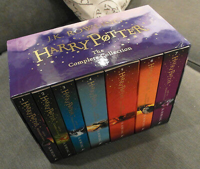 Harry Potter Box Set: 7 Book Complete Collection by J. K. Rowling