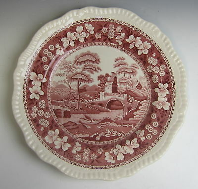 Spode China TOWER PINK (NEW MARK) Diner Plate(s) EXCELLENT