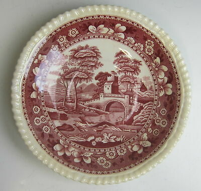 Spode China TOWER PINK (OLD MARK) Oversized Saucer(s) EXCELLENT